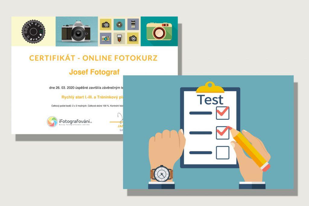 online kurz certifikát