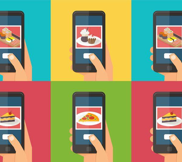Online kurz fotografování jídla