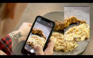 Fotografování jídla - obyčejné kuře