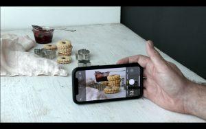 Fotografování jídla - detaily mobilem