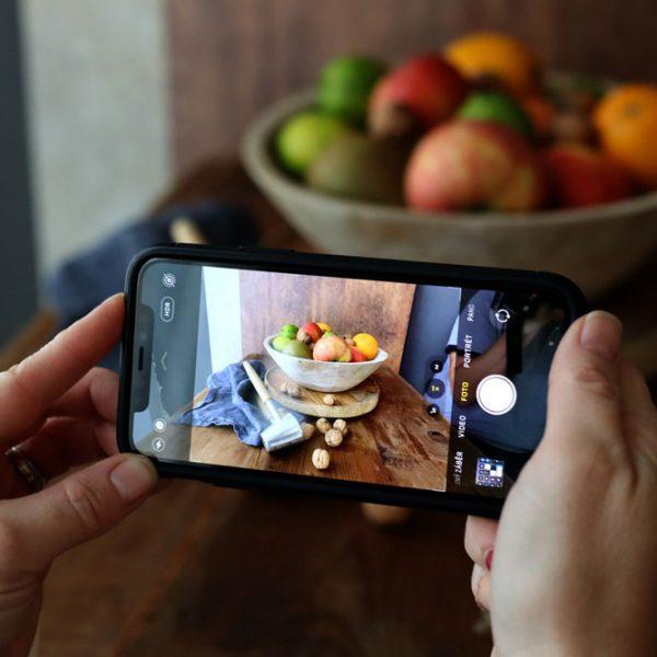 Fotografování jídla mobilem