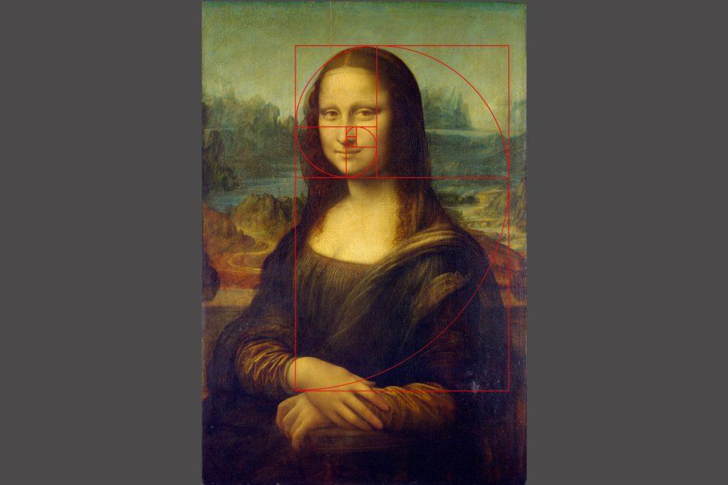 Mona Lisa a zlatý řez